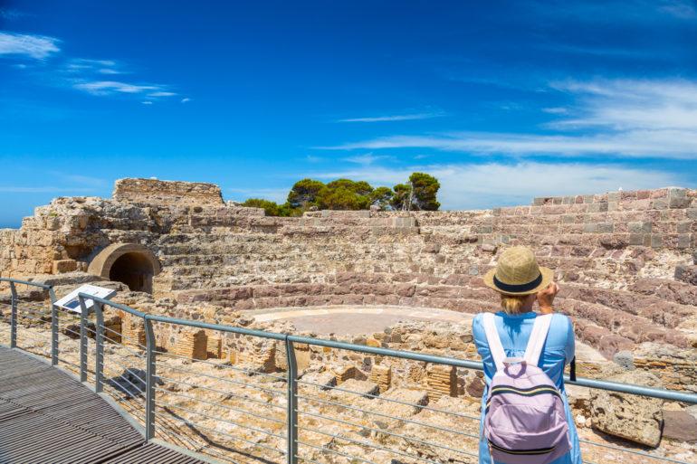 Пула, археологические раскопки Норы, римский театр. Фото Алессандро Аддис.