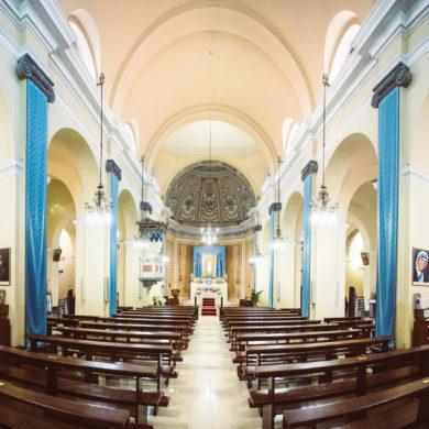 Pula, chiesa di San Giovanni Battista. Foto di Federico Gaudino.