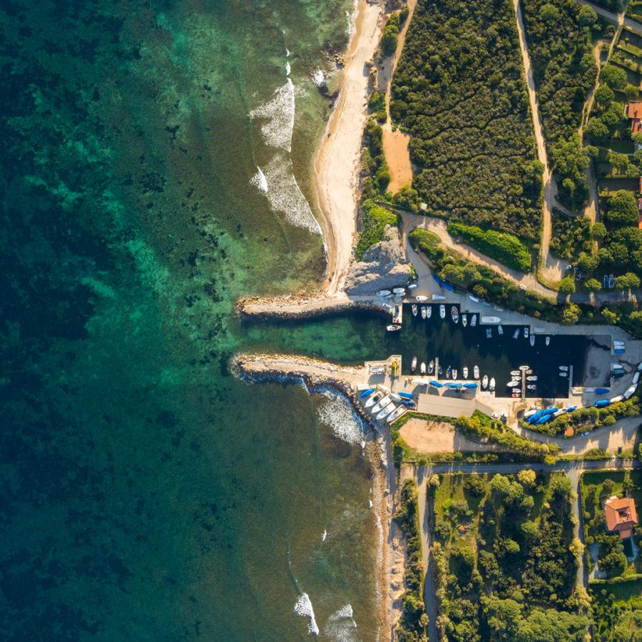 Pula, port of Cala Verde. Photo by Manuel Aramu Murru.