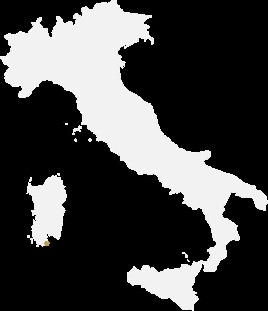 Mappa Pula, Sardegna, Italia
