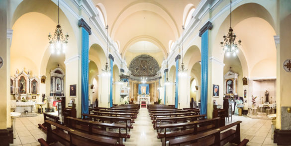Pula, iglesia de san juan battista. Foto de Federico Gaudino.