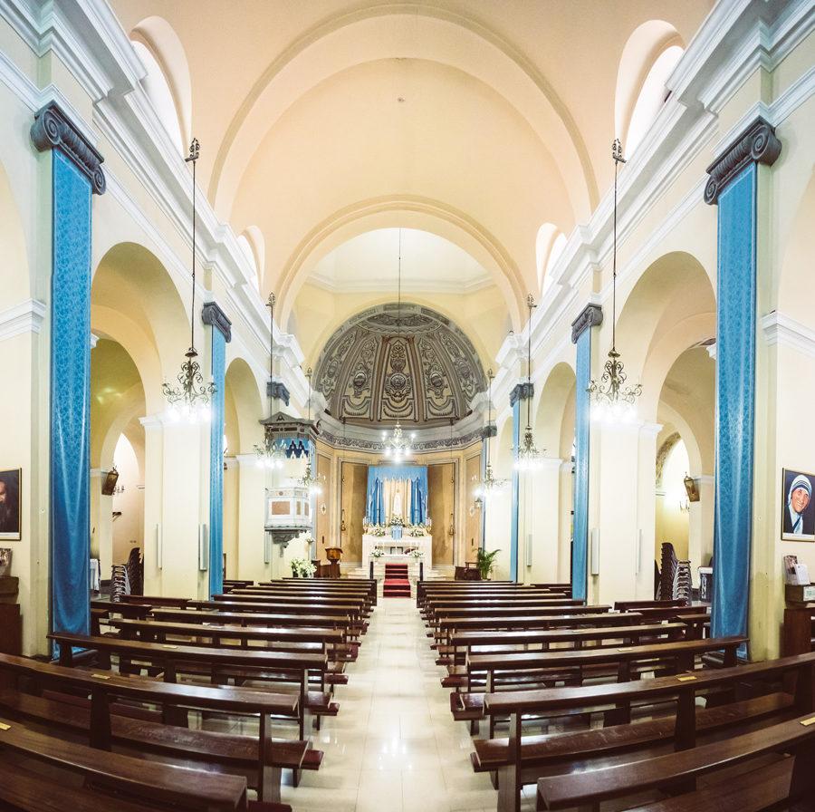 Pula, église de San Giovanni Battista. Photo de Federico Gaudino.