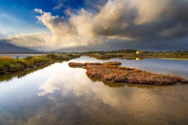 Pula, Lagune von Nora. Foto von Alessandro Addis.