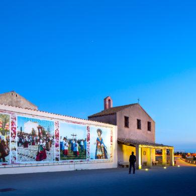Pula, iglesia de sant'Efisio. Foto de Alessandro Addis.